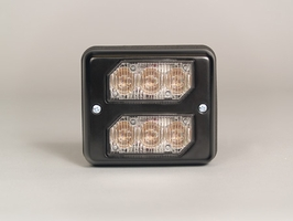 SoundOff Bezel, Dual Stacked for LED3 Mini Lights - Black