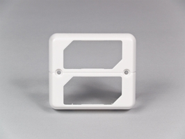 SoundOff Bezel, Dual Stacked for LED3 Mini Lights - White