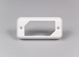SoundOff Bezel, Single for LED3 Mini Lights - White