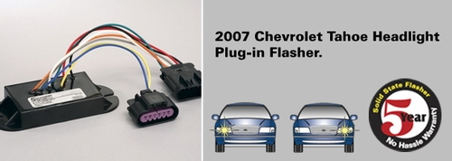 SoundOff Signal 2007+ Chevy Tahoe Plug In Headlight Flasher