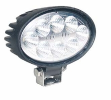 "SoundOff Signal 5.6"" Oval 700 Lumen LED Work Light"