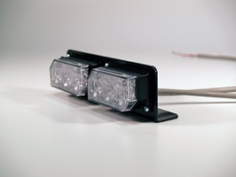 Soundoff Signal LED3 Bracket - 90 Degree Dual Side by Side Horizontal