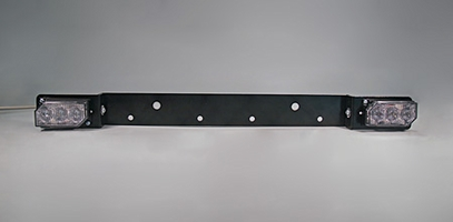 Soundoff Signal LED3 Bracket - License Plate Bracket - Horizontal