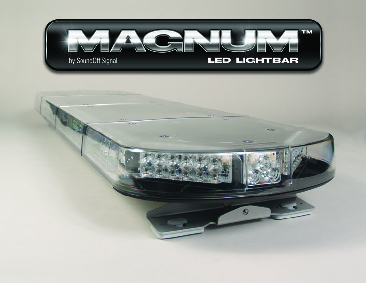 soundoff magnum led lightbar 48 inches of led warning power!soundoff signal magnum led lightbar 48 inches