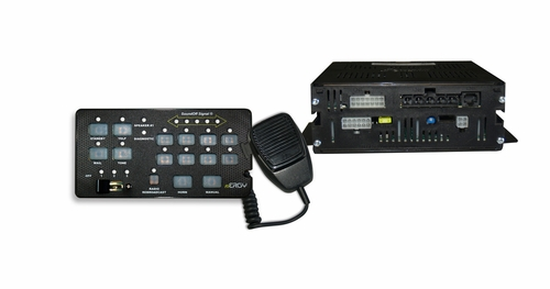 SoundOff Signal nErgy 400 Series Console Mount Remote Siren - 200 Watt