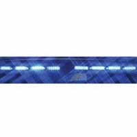 SoundOff Signal nForce Interior Windshield Lightbar 18 LED - TRI Color - PASSENGER
