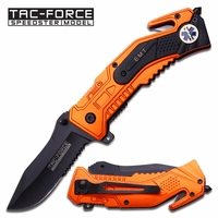 Tac Force Magnum Assisted Opening Rescue Knife EMT