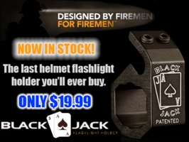 The Blackjack Helmet Flashlight Holder