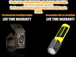The BlackJack Streamlight Flashlight Package