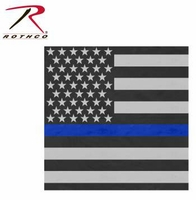 Thin Blue Line Flag Bandana