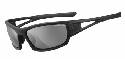 TIFOSI Matte Black Dolomite Tactical 2.0 Glasses - Single Lens