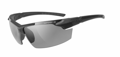 TIFOSI Matte Black Jet FC Tactical Glasses - Single Lens
