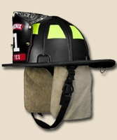 Traditional Composite Firefighter Helmet OSHA Approved