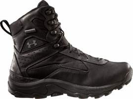 Under Armour 7 Inch Speed Freek Duty Boots Waterproof BLACK