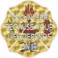 Volunteer because Your Life Depends on It