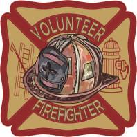 Volunteer Firefighter Vintage