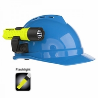 XPP-5418GX-K01 Nightstick Intrinsically Safe Firefighter Helmet Light GREEN