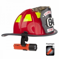 XPP-5418RX-K01 Nightstick Intrinsically Safe Firefighter Helmet Light RED