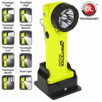 XPP-5568GX Intrinsically Safe Dual Angle Flashlight Rechargeable GREEN