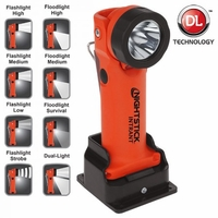 XPR-5568RX Intrinsically Safe Dual Angle Flashlight Rechargeable RED