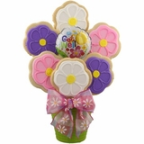 Get Well Soon Garden Cookie Bouquet
