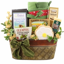 Italian Flair Gift Basket