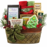 Italian Flair Holiday Gift Basket