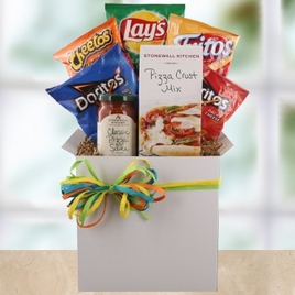 Pizza & Snacks Care Package