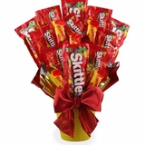 Screaming Skittles Candy Bouquet