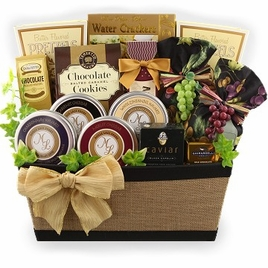 Wine Country Bountiful Gift Basket