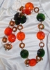 1960's Bright Plastic Mod Necklace