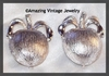 ADAM'S DELIGHT Earrings - Silvertone