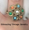 ANTIQUE BOUQUET Ring