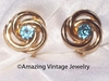 AQUA SWIRL Earrings