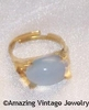 BEAUTY GLO Ring - Goldtone