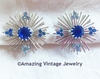 BLUE SNOWFLAKE Earrings
