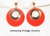 BOLD GYPSY Earrings - Orange
