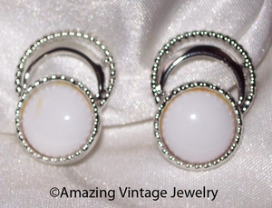 BOLD 'N BEAUTIFUL Earrings - White