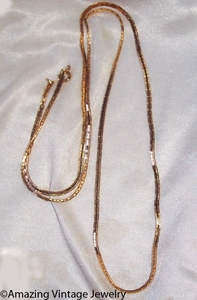 BOSTONIAN CLASSIC Necklace - Goldtone - 30""