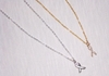 BREAST CANCER AWARENESS Necklaces:  Your Choice Sterling Silver or 14k Gold Filled