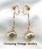 CAFE SOCIETY Earrings Goldtone