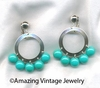 CARNIVAL Earrings - Turquoise