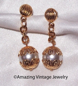 CHAIN-ABILITY Earrings - Goldtone - Pierced