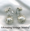 CHAIN-ABILITY Earrings - Silvertone