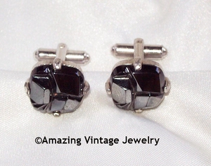 CHARCOAL CLASSIC Cuff Links