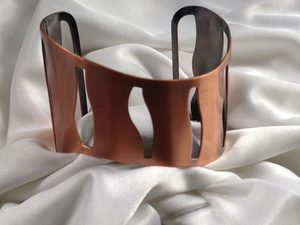 Copper Cutout Bracelet