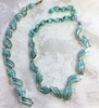 CORO Mint Green Necklace/Bracelet Set
