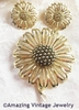 DAISY MAE Pin & Earrings Set