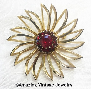 DEEP BURGUNDY Pin