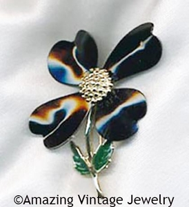 DOGWOOD Pin - Black